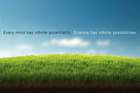 Green hill and bioinformatics slogan