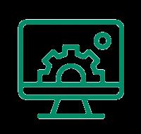 Custom software icon